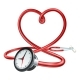 Stethoscope Clock Heart Concept - GraphicRiver Item for Sale