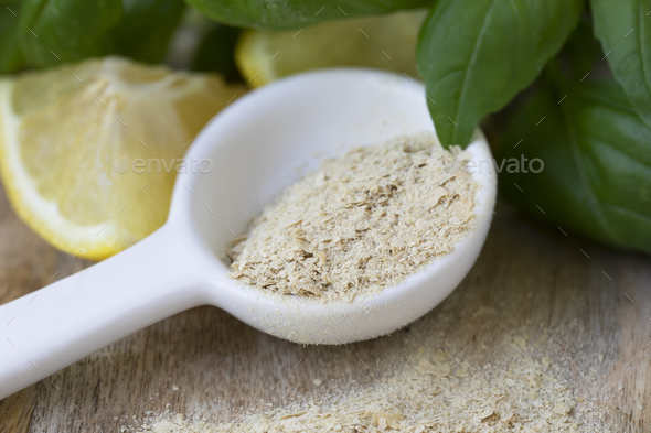 Cooking with Nutritional Yeast - Stock Photo - Images