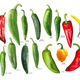 New mexican hatch chiles, paths - PhotoDune Item for Sale