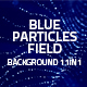 Blue Particles Field Background 11in1 - VideoHive Item for Sale