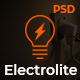 Electrolite - Electrical Services PSD Template - ThemeForest Item for Sale