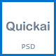 Quickai - Recharge & Bill Payment, Booking PSD Template - ThemeForest Item for Sale