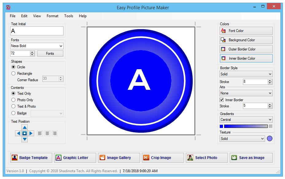 Easy Profile Picture Maker - Make Standard, Make Easy