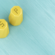 Yellow salt and pepper shakers - PhotoDune Item for Sale