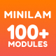 Minilam - Responsive Email with 100+ Modules + MailChimp Editor + StampReady + Online Builder - ThemeForest Item for Sale