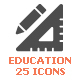 School&Education Filled Icon - GraphicRiver Item for Sale