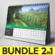 Desk Calendar 2019 Bundle - GraphicRiver Item for Sale