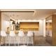 3d Illustration Kitchen Interior Design in White - GraphicRiver Item for Sale