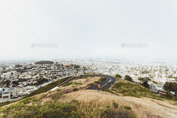 Twin Peaks - Stock Photo - Images