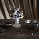 chocolate cake with flowers in dark interior - PhotoDune Item for Sale