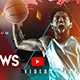 Creative Basketball YouTube Banners - GraphicRiver Item for Sale