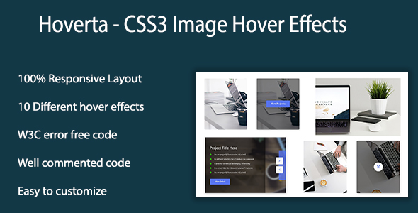 Hoverta - CSS3 Image Hover Effects            Nulled