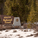 The Sign Says Welcome to Winema National Forest - PhotoDune Item for Sale