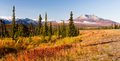 An Ancient Volcano Stands in the Northern Territory of Alaska - PhotoDune Item for Sale