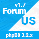 ForumUS | Responsive phpBB 3.2.2 Style / Theme - ThemeForest Item for Sale