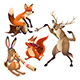 Group of Musician Animals with Conductor - GraphicRiver Item for Sale