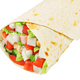 Greek wrap sandwich isolated - PhotoDune Item for Sale