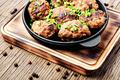 Delicious meatballs in frying pan - PhotoDune Item for Sale