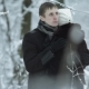 Hugs Happy Couple in Winter Outdoors - VideoHive Item for Sale