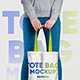 Canvas Tote Bag Mockup - GraphicRiver Item for Sale