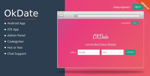 OkDate Dating Software - Complete Dating Script - CodeCanyon Item for Sale
