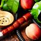 Oriental shisha with peach - PhotoDune Item for Sale