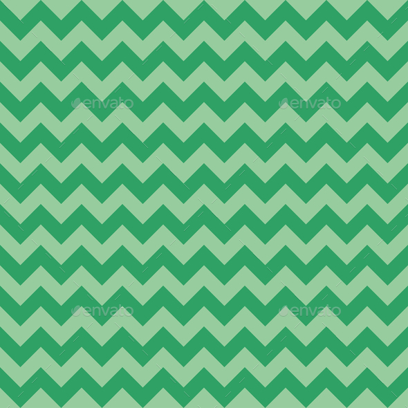 Seamless chevron pattern, green color. Vector - Stock Photo - Images