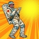 Astronaut Young Man Points - GraphicRiver Item for Sale