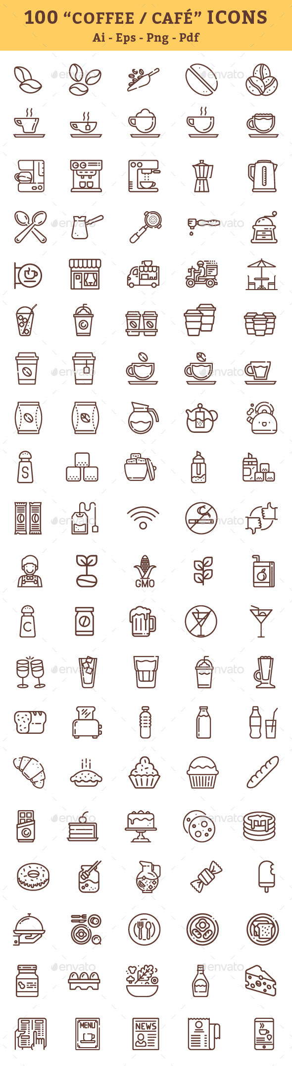 Coffee Icons - Icons