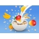 Instant Oatmeal Mango - GraphicRiver Item for Sale