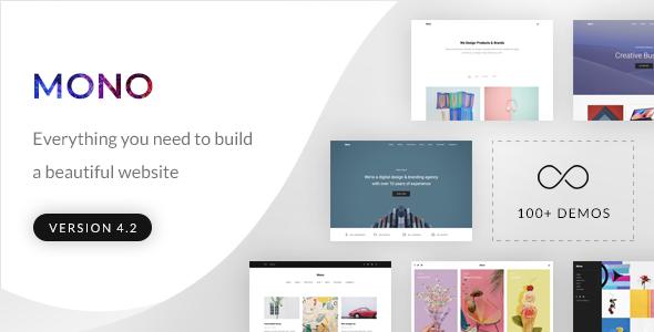 Image of Mono - Creative Multi-Purpose HTML5 Template