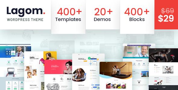 Image of Lagom - Multi Concept MultiPurpose WordPress Theme