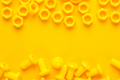 Yellow 3d Printed Bolts And Nuts  - PhotoDune Item for Sale