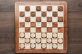 Wooden Draughts Game  - PhotoDune Item for Sale