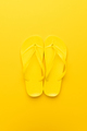 Yellow Beach Flip-flops  - PhotoDune Item for Sale