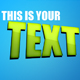 Extraterrestrial Text effect using Layer Styles - GraphicRiver Item for Sale