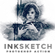 Inksketch | PS Action - GraphicRiver Item for Sale