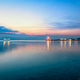Sky twilight at Nathon Pier in Ko Samui - PhotoDune Item for Sale