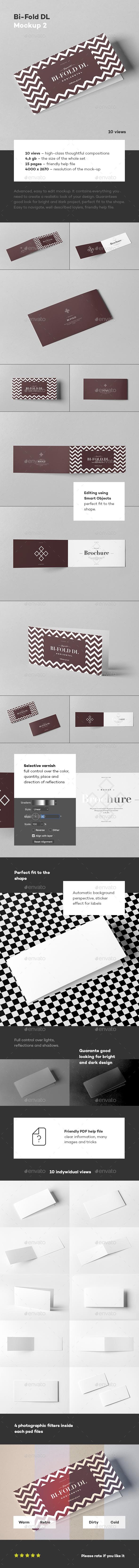 Bi-Fold DL Horizontal Brochure 2 - Brochures Print