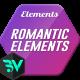 Romantic Elements & Titles - VideoHive Item for Sale