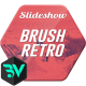 Brush Retro Slideshow - VideoHive Item for Sale