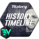 History Timeline // Glass Slides - VideoHive Item for Sale