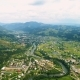 Carpathian Mountains Aerial View Mood Weather Daylight Ukraine, Verkhovyna - VideoHive Item for Sale