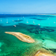 Aerial view of boats, luxury yachts and transparent sea - PhotoDune Item for Sale