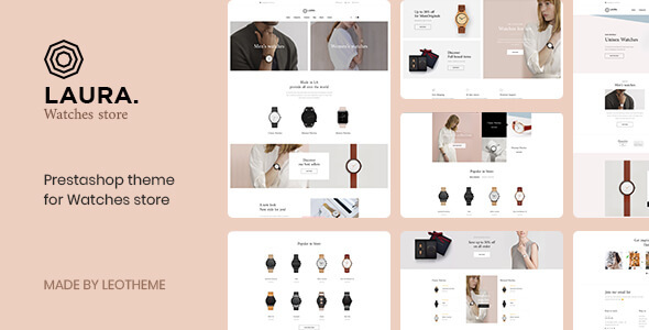 Leo Laura - Multistore Prestashop 1.7 theme for Watch | Fashion | Accessories - Fashion PrestaShop