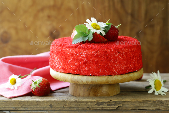 Red Velvet Cake - Stock Photo - Images