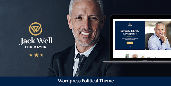 Jack Well | Elections Campaign & Political WordPress Theme - Political Nonprofit