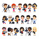Photographers Flat Cartoon Characters - GraphicRiver Item for Sale
