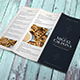 Restaurant Trifold Brochure Menu - GraphicRiver Item for Sale