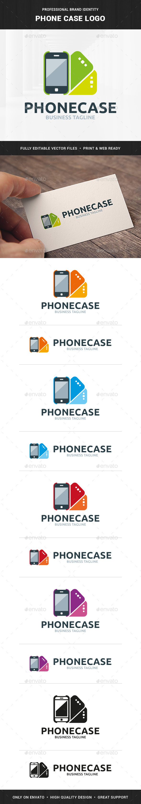 Phone Case Logo Template - Objects Logo Templates